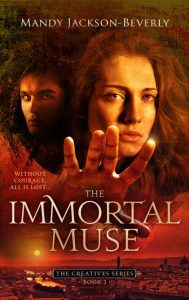 The Immortal Muse book cover by Mandy Jackson-Beverly