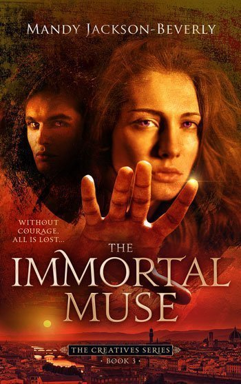The Immortal Muse book cover by Mandy Jackson Beverly