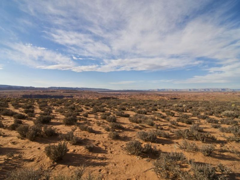 5844724 - expansive arizona desert near page